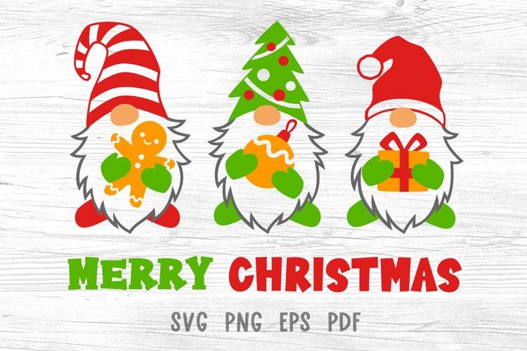 Three gnomes svg Merry christmas svg Christmas shirt designs example image 1