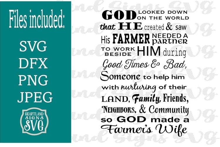 Farmer Wife SVG