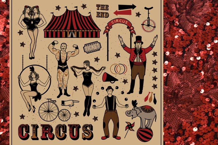 Circus set example image 1