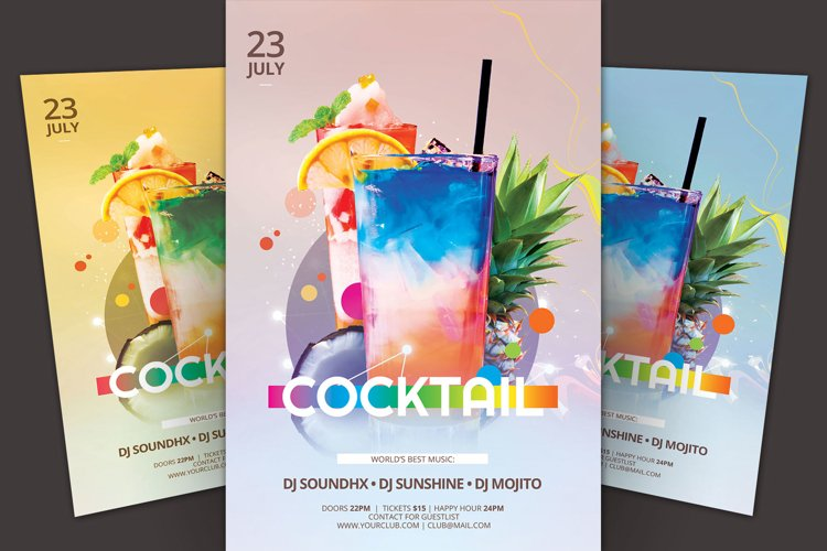 Cocktail Flyer