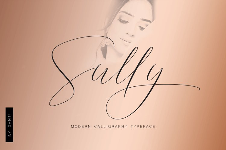 Sully Font Script example image 1
