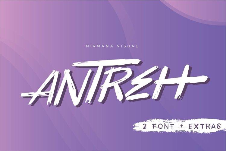 Antreh 2 Font Plus Extra example image 1