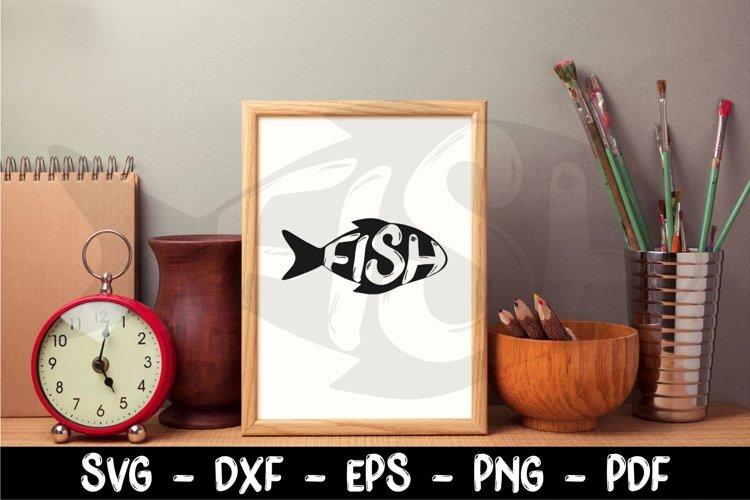 Fishing Svg, Fish Svg, Fish clipart