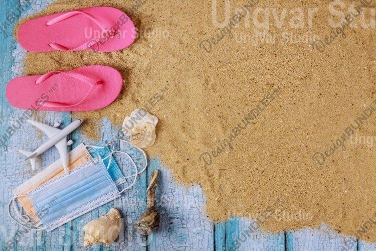 Coronavirus COVID-19 protection ban on beach vacations example image 1