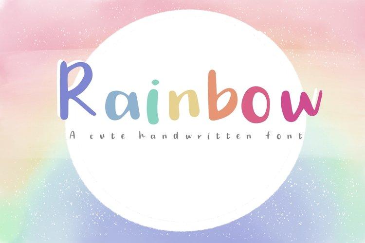 Rainbow example image 1