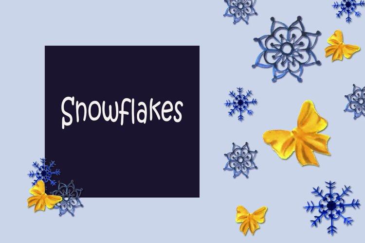 Snowflakes example image 1