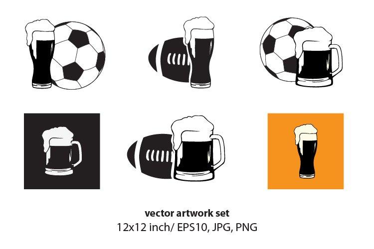 Beer - VECTOR ARTWORK SET