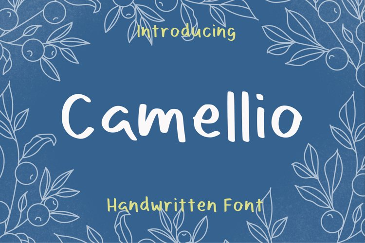 Camellio Font example image 1