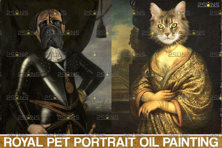 Royal Pet Portrait templates vol.13, Pet Painting example image 1