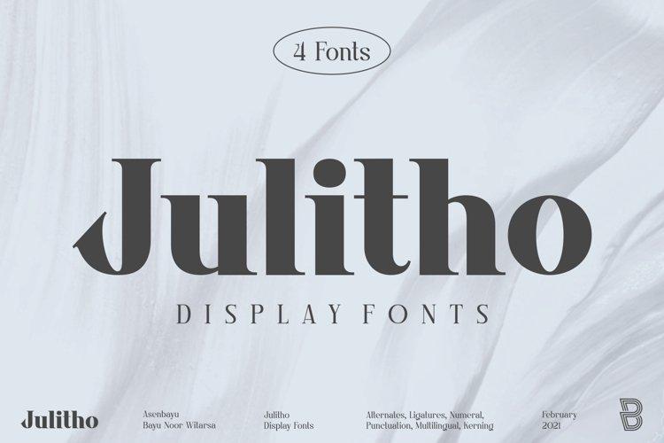 Julitho Fonts example image 1