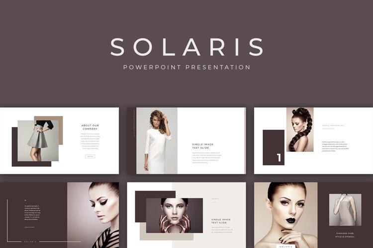 Solaris PowerPoint Presentation Template