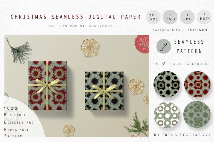 Christmas seamless digital paper