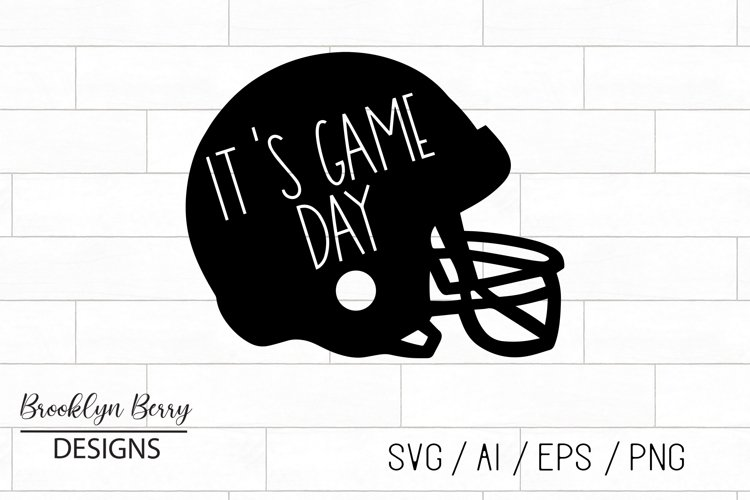 Football SVG - Its Game Day
