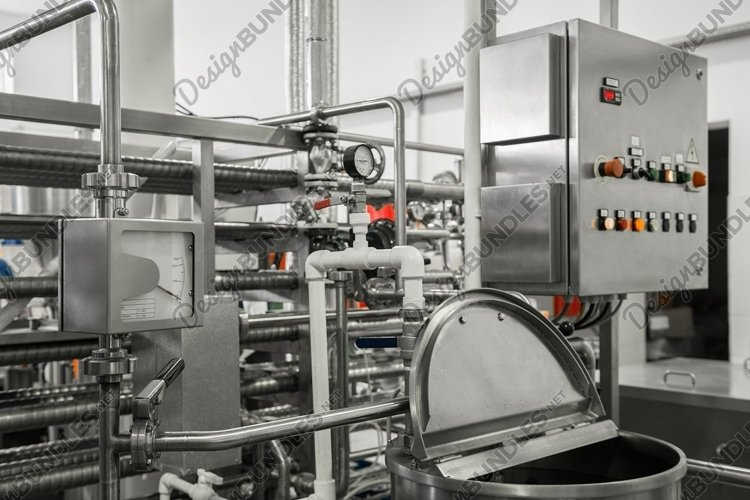 Equipment and technologies at a dairy plant example image 1