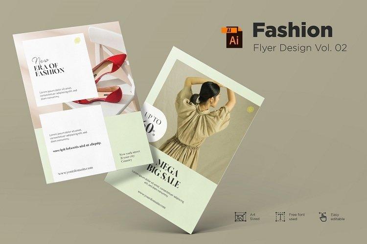 Fashion flyer design Vol. 02