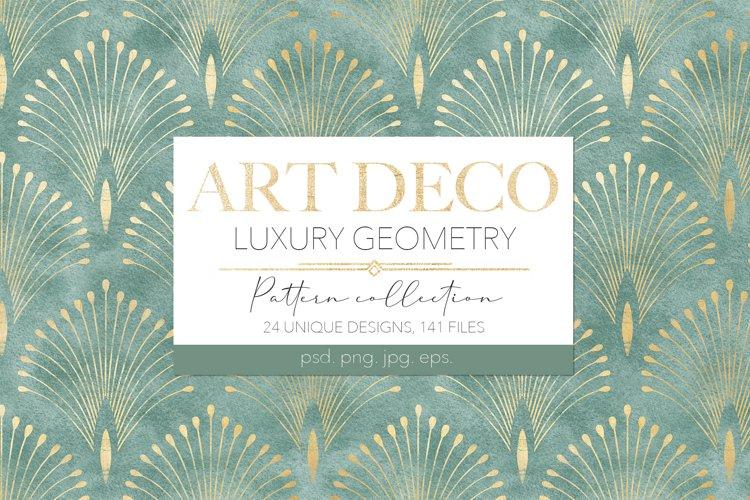 ART DECO Geometry Patterns
