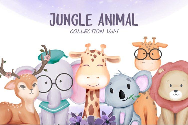 Jungle Animal Vol.1 example image 1
