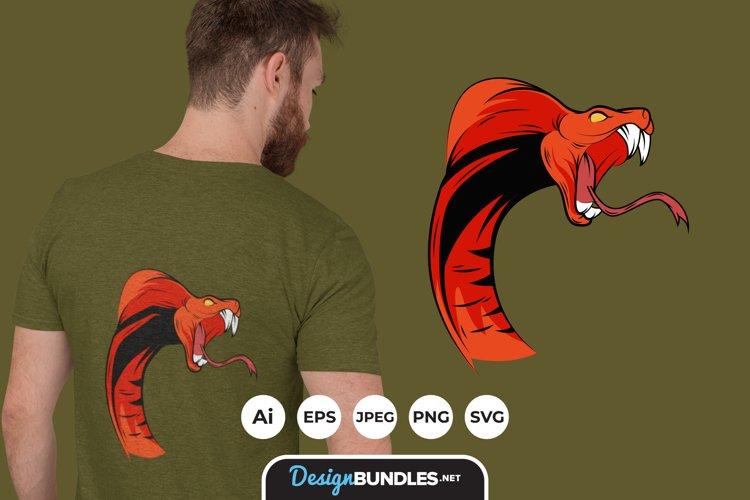 Snake Illustrations for T-Shirt Design