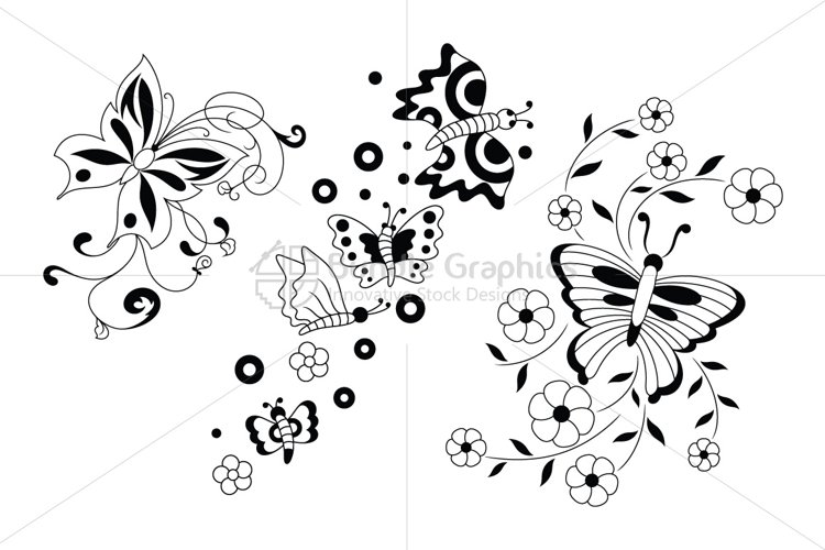 Decorative Butterfly example image 1