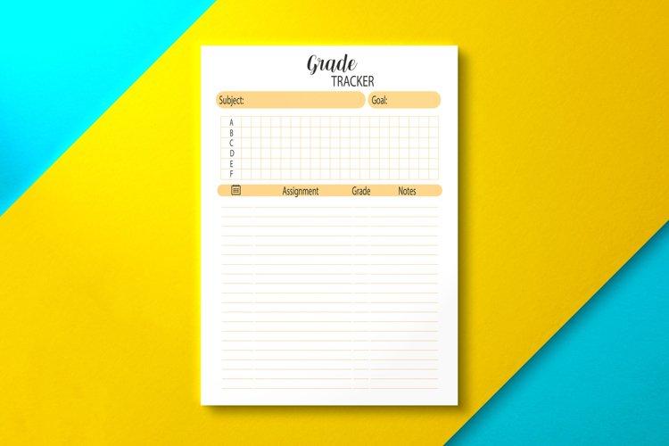 Student Grade Tracker, KDP INTERIOR example image 1