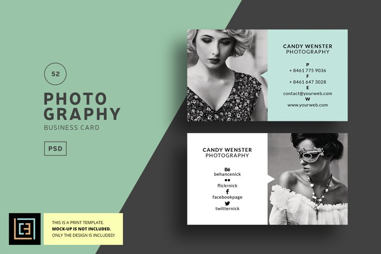 Photography - Business Card - BC052