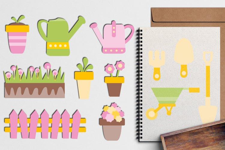 Gardening Clipart Illustrations example