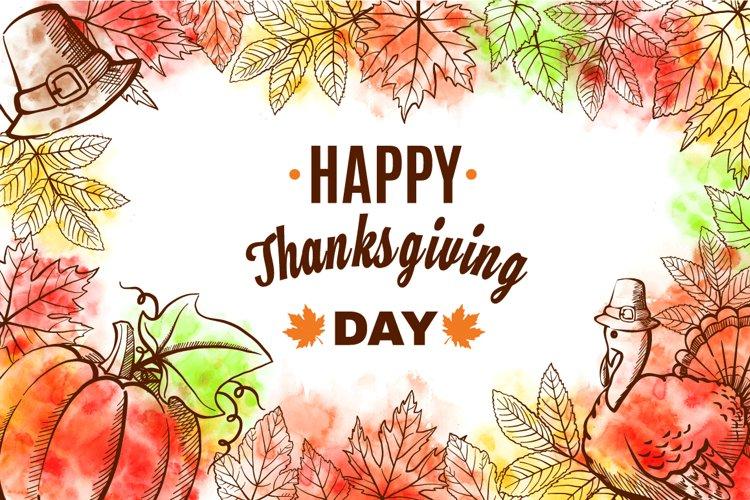 Happy Thanksgiving Set example image 1