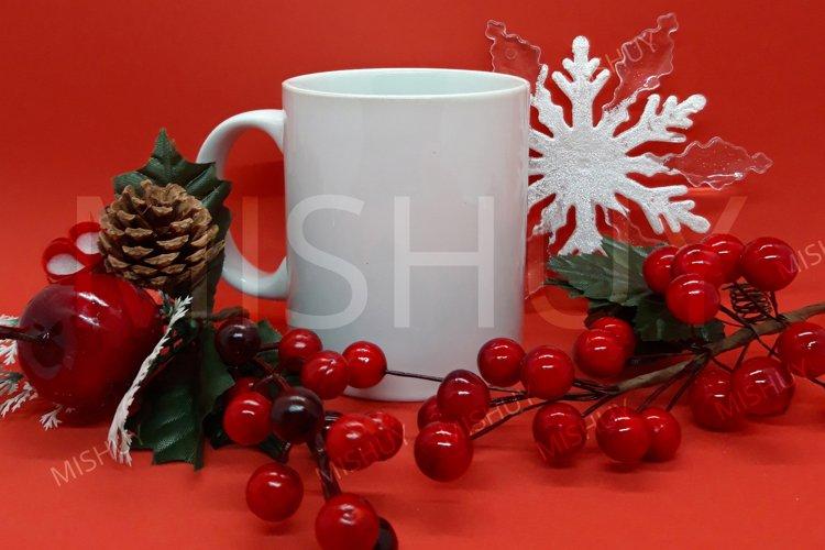 Christmas Mug Mockup