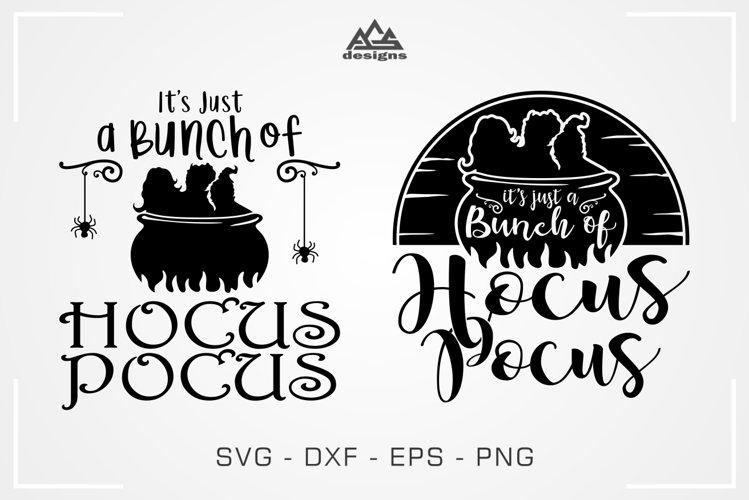 Bunch of Hocus Pocus Witch Halloween Svg Design