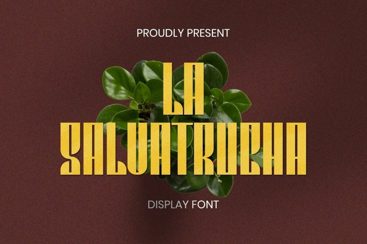 Web Font La Salvatrucha Font example image 1