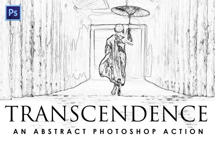 Transcendence Photoshop Action example image 1
