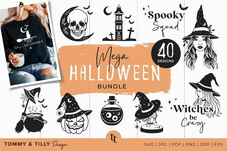 Halloween SVG Bundle 40 Designs Cut Files example image 1