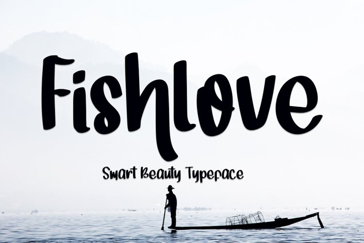 Fishlove - Beauty Handwritten Font example image 1