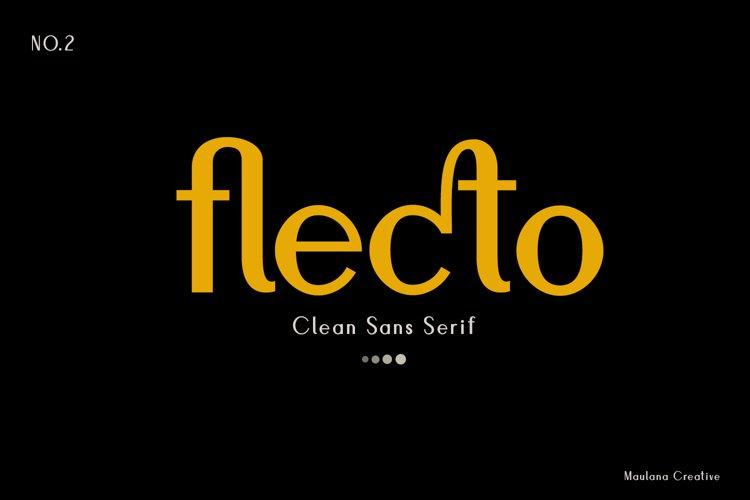 Flecto Clean Sans Serif example image 1