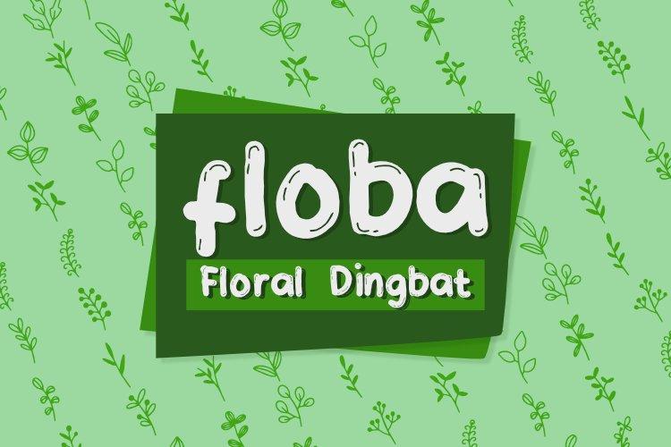 Floba Dingbat Font example image 1