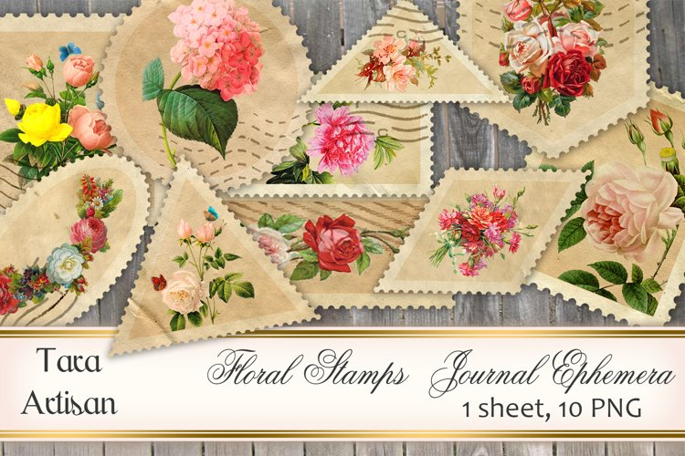 Floral Stamps