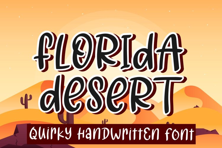 Florida Desert example image 1