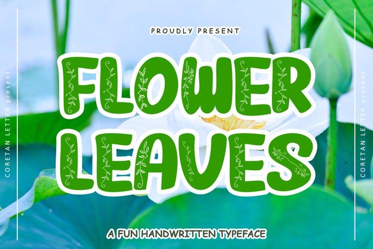 FLOWERLEAVES example image 1