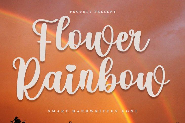Flower Rainbow example image 1