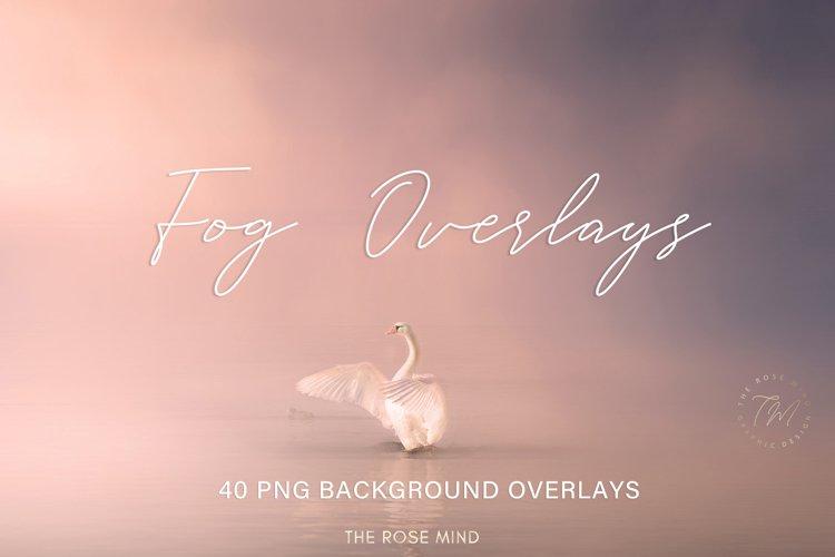 Fog overlays, photo effect Fog photoshop