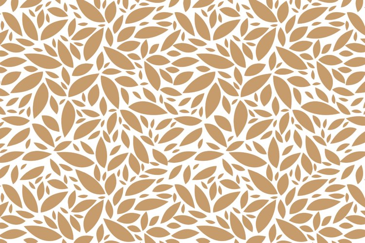 seamless pattern for fabric. autumn leaves. abstraction