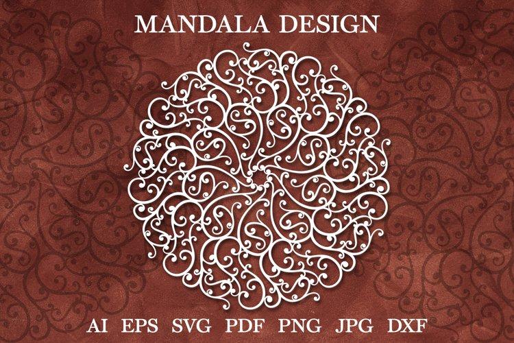 Mandala SVG, Mandala Flourish SVG, Mandala Zentangle SVG