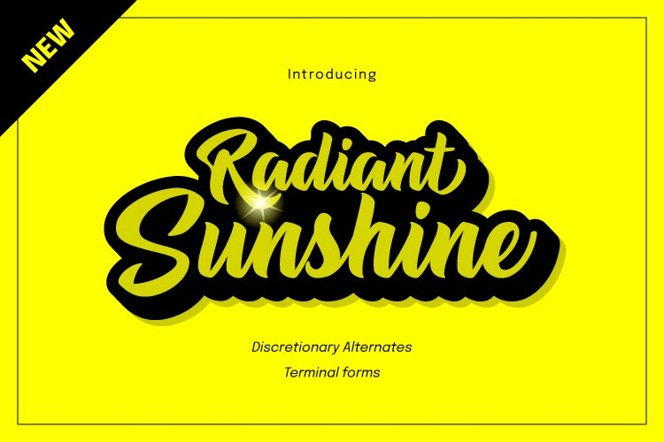 Radiant Sunshine example image 1