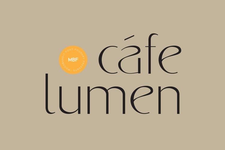 MBF Cafe Lumen example image 1