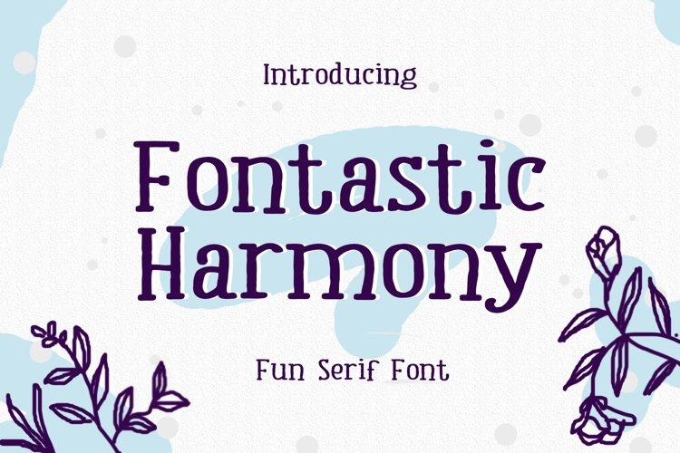 Fontastic Harmony example image 1