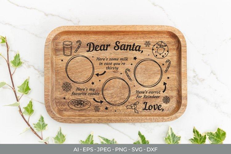 Milk and Cookies for Santa SVG File