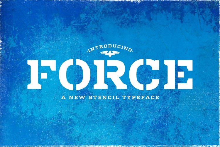 Web Font Force example image 1