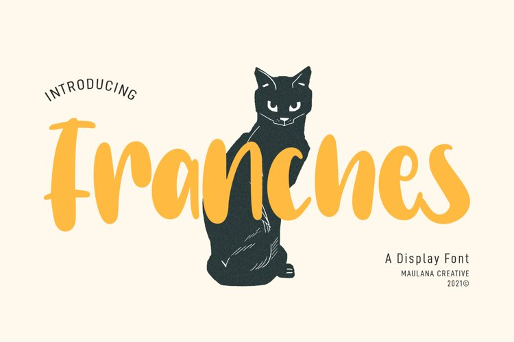 Franches Cute Handwritten Font example image 1