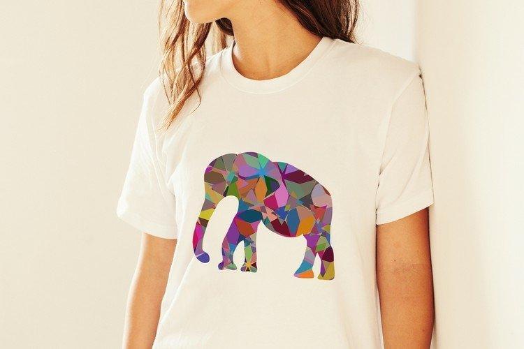 Elephant vector plus PNG sublimation design transparent
