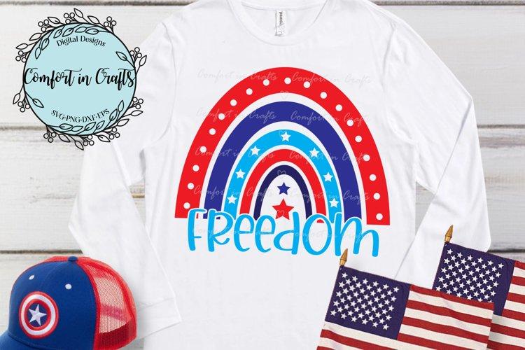 Freedom Rainbow SVG